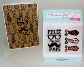 Kit Feliz dia dos Pais scrapbook by Tamy