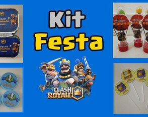 Kit Festa - Clash Royale