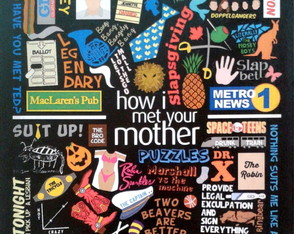 "Pôster ""How I Met Your Mother"" A3 -42x29"