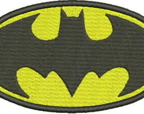 Matriz de Bordado - Escudo Batman