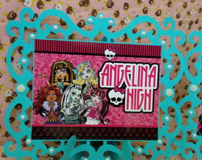 Moldura Decorativa Monster High