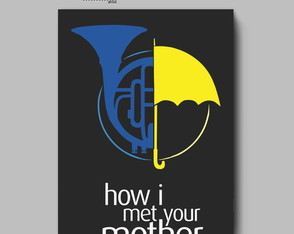 Poster série - HOW I MET YOUR MOTHER