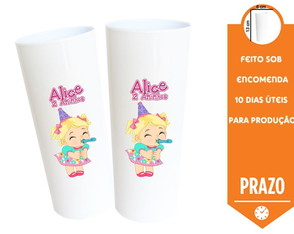 Copo Lembrancinha Long Drink Baby Alive