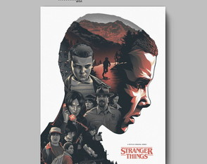 Poster série - STRANGER THINGS