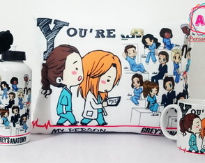 Super Kit Grey's Anatomy com Squeeze