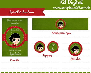 Kit Digital Amelie Poulain