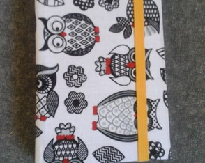Caderno quadriculado A6 - bullet journal