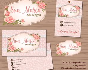 Kit Identidade Visual FLORAL