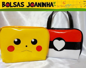 BOLSA POKEMON,POKEBOLA,PIKACHU (CADA)
