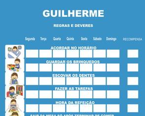 QUADRO DE REGRAS - Coleção de PEDACINHO DE GENTE - By Sikelly ... 10dc7086e2aeb
