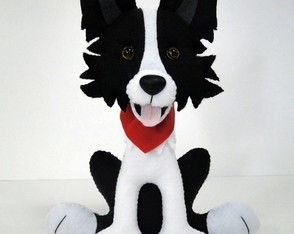 Border Collie de Feltro