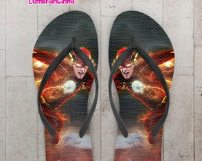 Chinelo Infantil Flash O Filme
