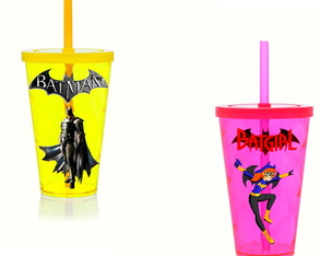 Copo adesivado 500 Ml Batman
