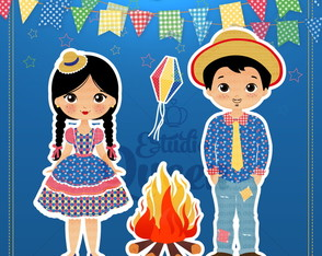 Festa Junina ClipArt | Kit Digital