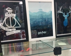 Quadros Decorativos - Harry Potter