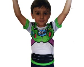 Kit 4 Camisetas Toy Story