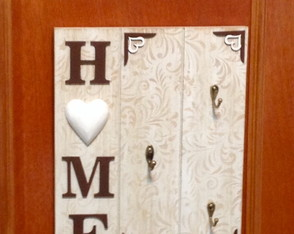 Porta chaves mdf - Home