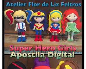 Apostila Digital Super Hero Girls!