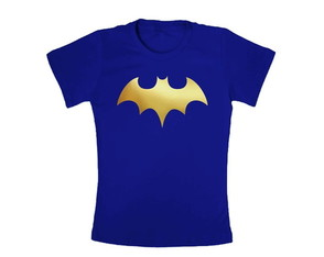 Camiseta Infantil Batgirl Hero Girl