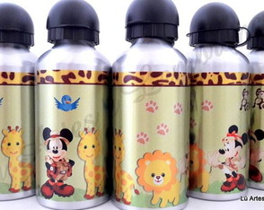 Squeeze Mickey com Bichinhos 500ml