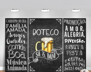 Chalkboard Chá Bar | ARTE DIGITAL