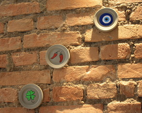 Kit 3 Quadrinhos Decorativos de Concreto