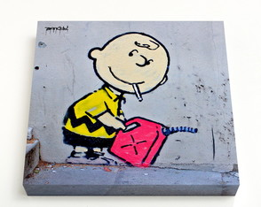 Quadro 24 Charlie Brown Gasoline