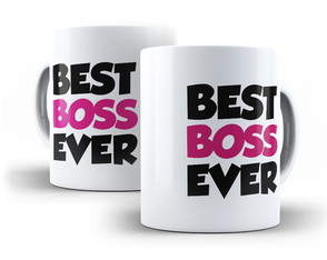 Caneca Best Boss Ever