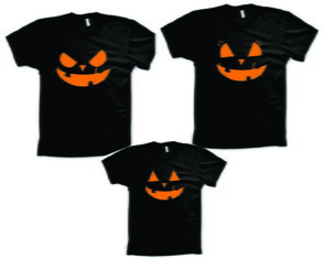 Kit Camisetas para Halloween
