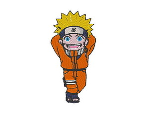 Patch Bordado Naruto 1