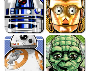 Porta Copo Star Wars Personagens