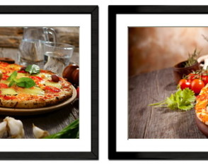 Kit Quadro Pizza - Pizzaria