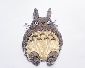 Patch Bordado Totoro 1