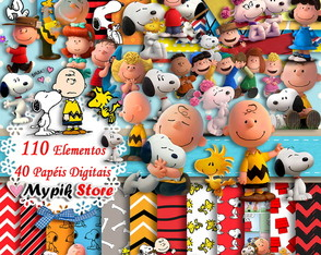 Super Kit Digital Snoopy & Charlie Brown