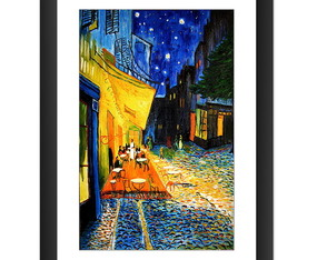 Quadro Van Gogh Cafe Terrance At Night