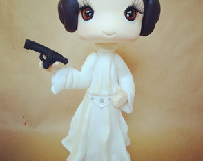 Princesa Lea Star Wars 30cm
