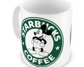 Caneca Mickey Coffee