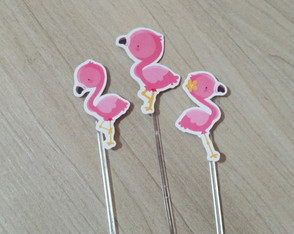 Topper Flamingos