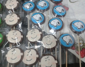 Pirulitos do Snoopy