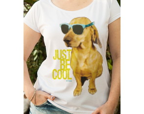 Camiseta Feminina Just Be Cool