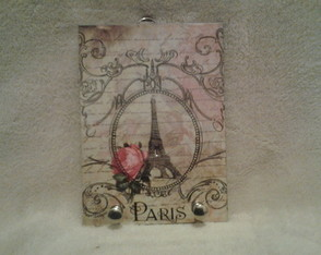 PORTA CHAVES PARIS VINTAGE