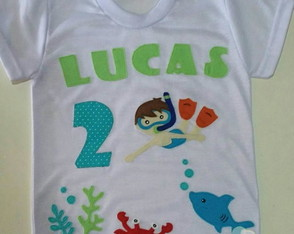 Blusa Fundo do Mar