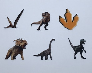 Toppers Dinossauro