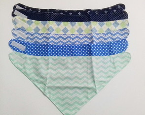 Kit Babador bandana -leve 6 pague 5 azul