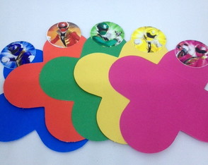 Forminha p/ Doces - Power Rangers