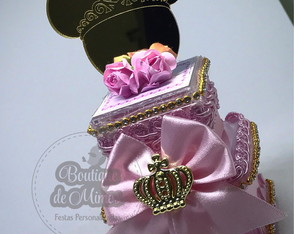 Kit Luxo Minnie Realeza