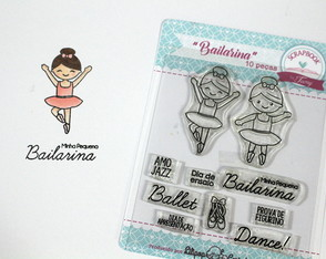 Kit Bailarina - scrapbook by Tamy