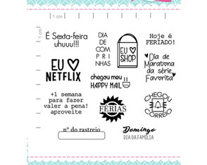 Kit Me faz Feliz - scrapbook by Tamy