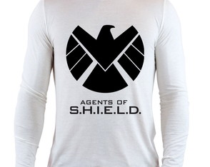 Camiseta Agents of Shield Marvel