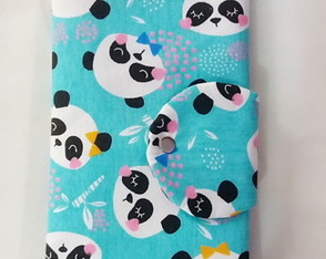 Kit Higiene Bucal Tema Pandas